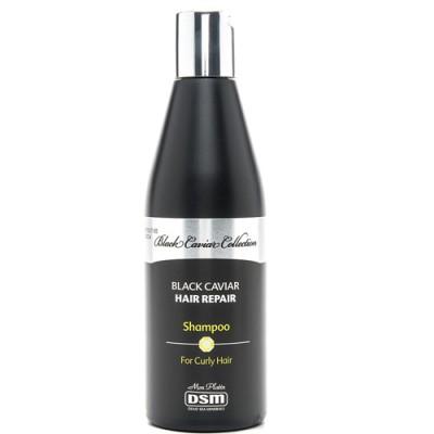 Восстанавливающий шампунь для вьющихся волос с экстрактом черной икры 400мл.