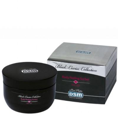 Сорбе-пилинг для тела с экстрактами черной икры, витаминными капсулами и орхидеи 250мл.