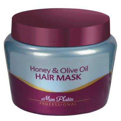 Маска для волос на основе оливкового масла и меда 500мл.