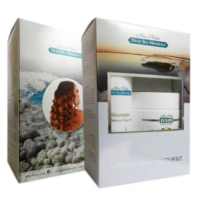 Подарочный набор для женщин для волос (Шампунь с минеральными добавками из Мертвого моря 500мл + Маска для волос с минералами 250мл)