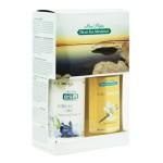 Подарочный набор для женщин для тела (Мыло-пилинг для тела (ваниль) 400мл + Крем для массажа тела с чувственным ароматом 400мл)