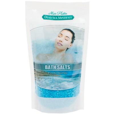 Натуральная соль Мертвого моря с ароматическими маслами (голубая) 500гр.