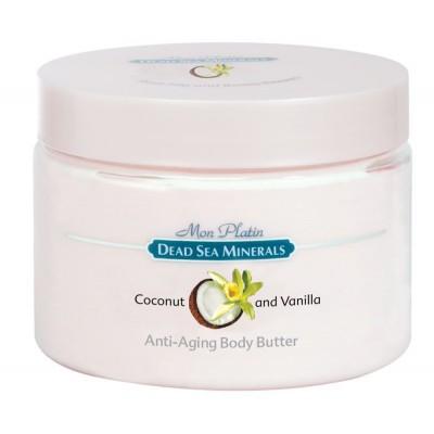 Масло для тела для предотвращения старения (анти-эйджинг) ванильно-кокосовое 300мл.